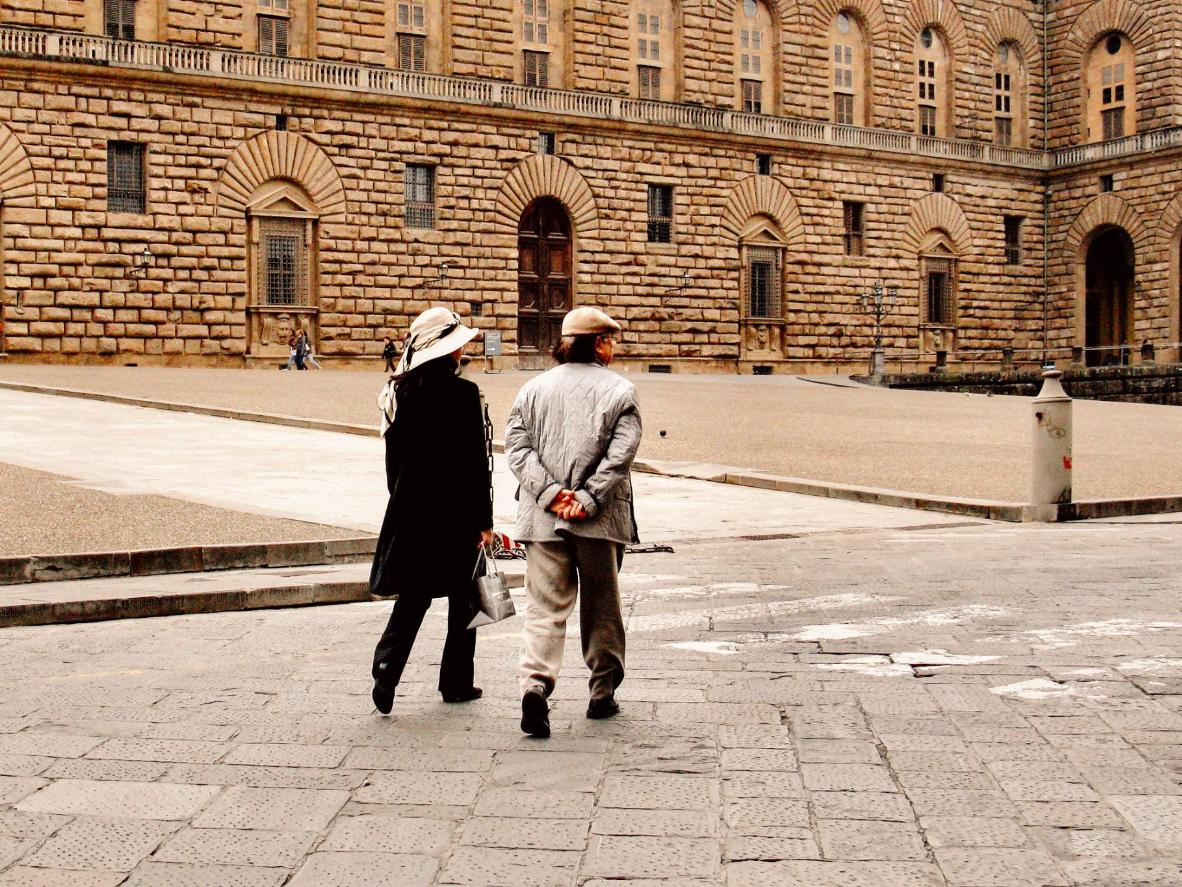 Visit the Palazzo Pitti in Florence