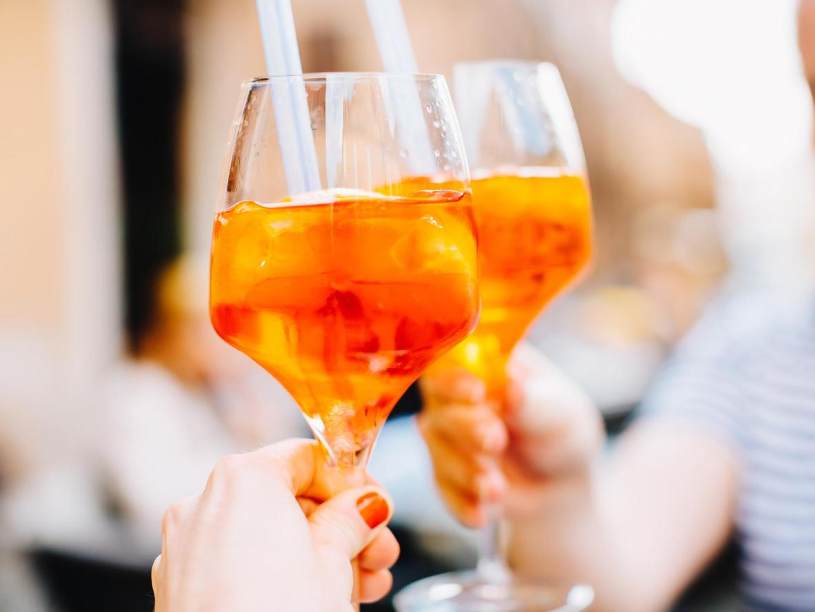 Embrace the classics with an Aperol Spritz in Milano Marittima
