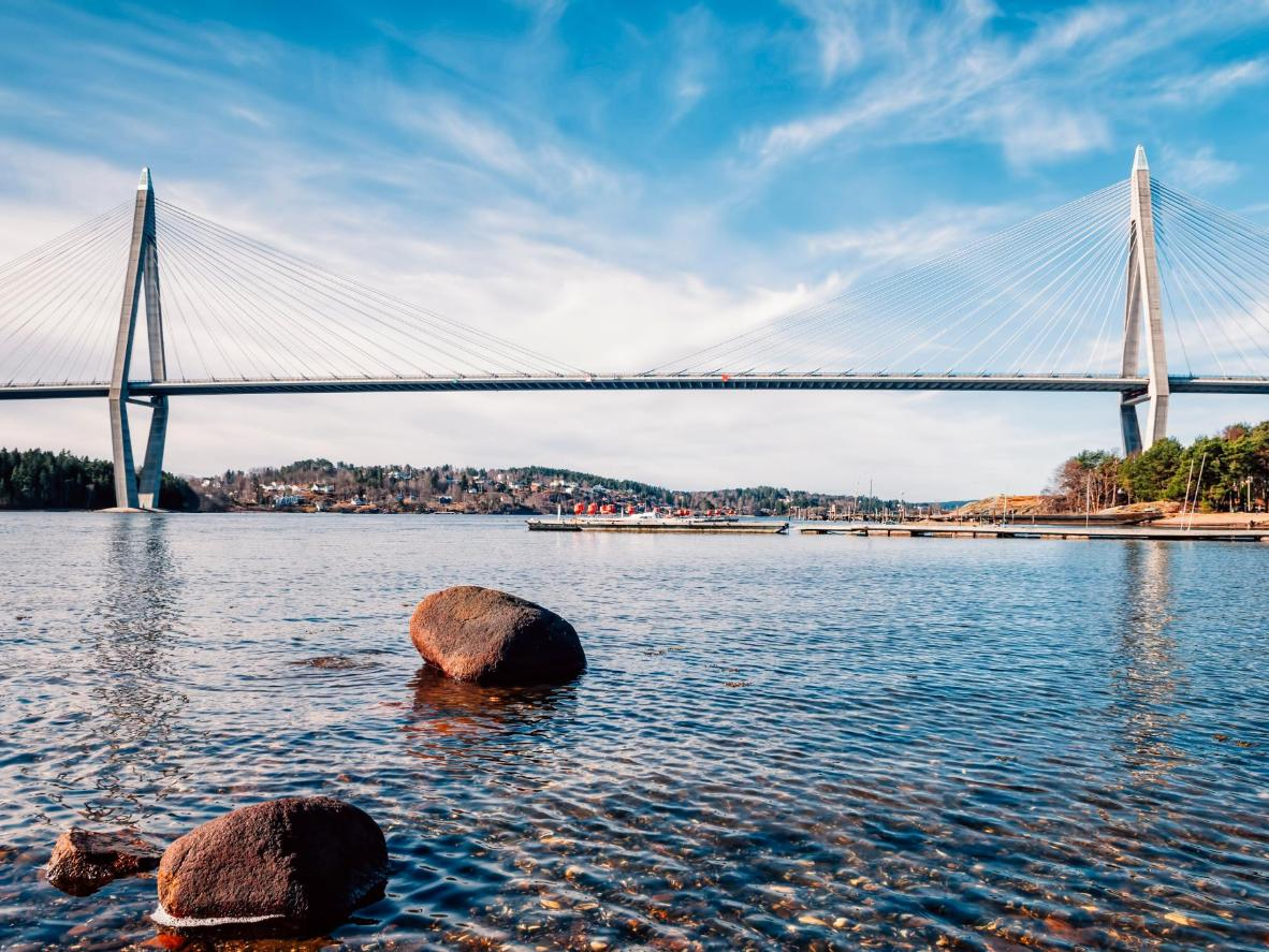 The Uddevallabron bridge