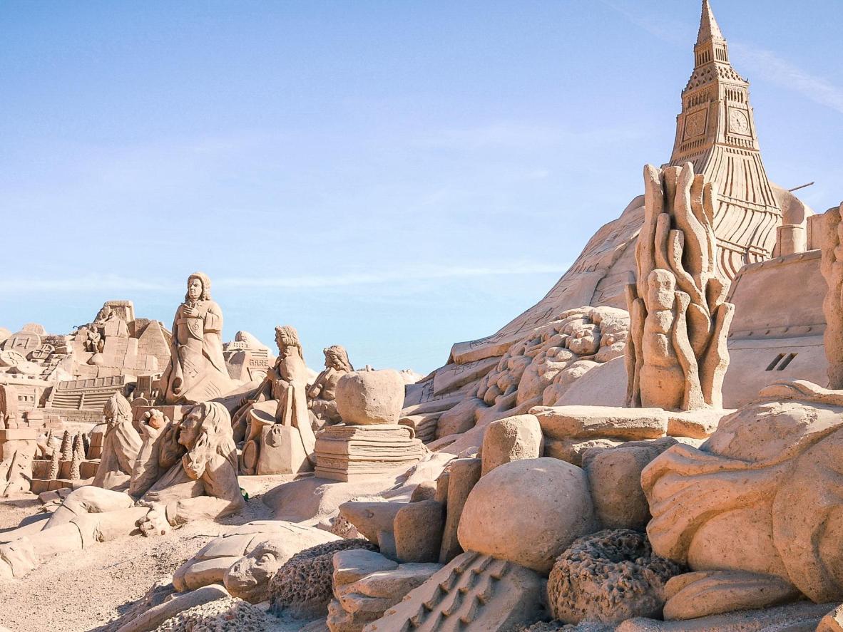 The world s most creative sand sculpture festivals