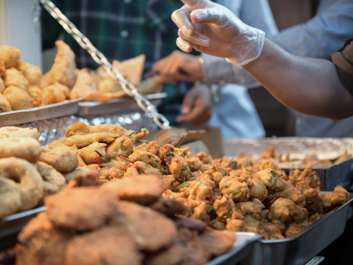 Enjoy savoury-sweet treats at the Sarada night market