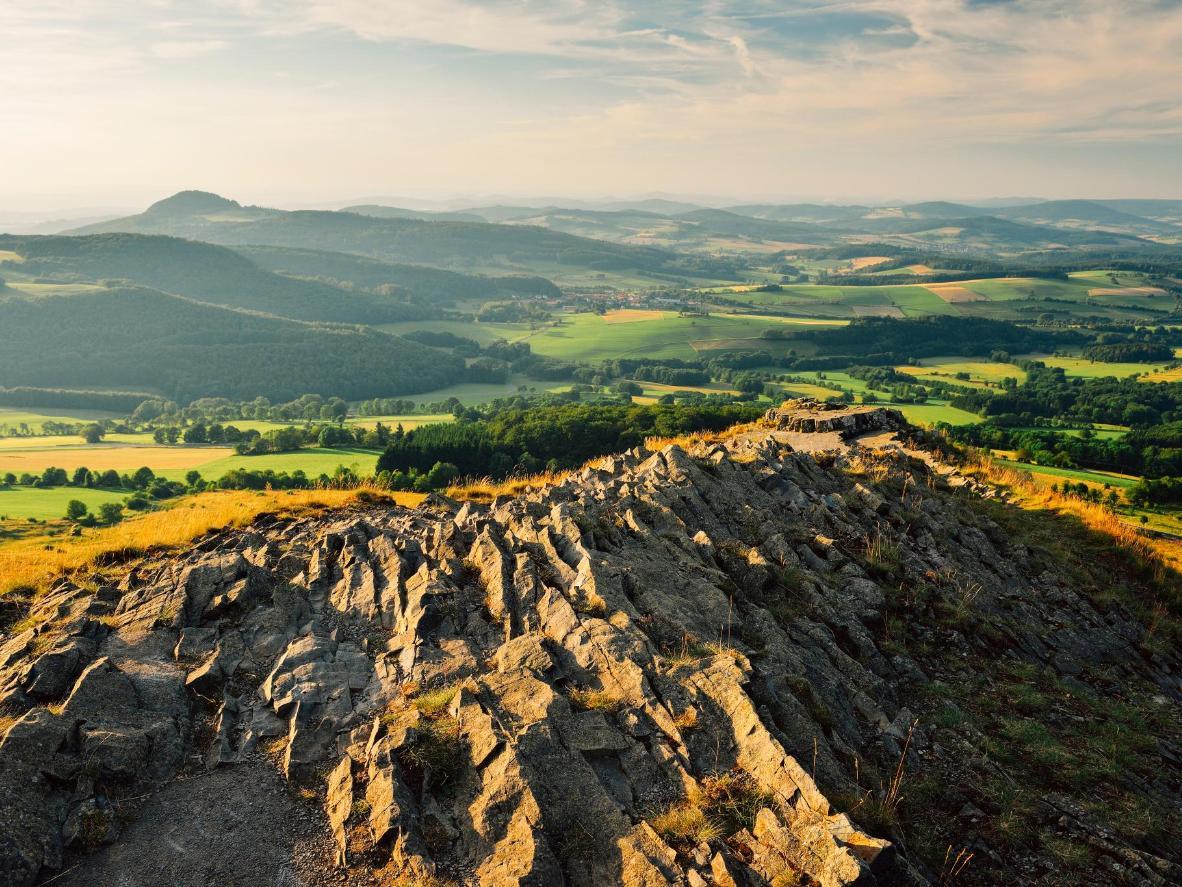 The Rhon Mountain Range