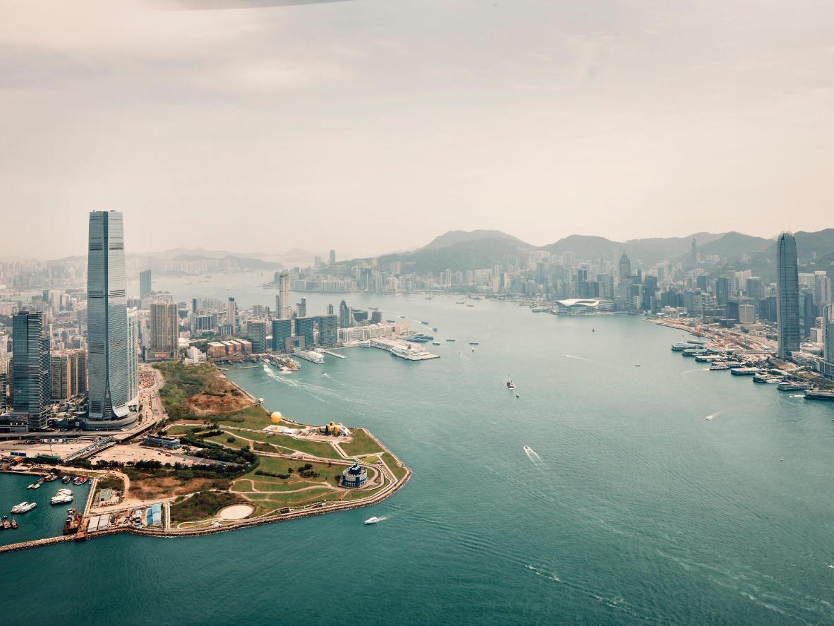 The Ritz-Carlton in Hong Kong