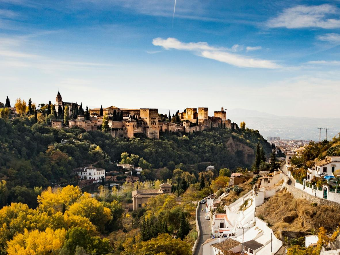 The beguiling Sacromonte quarter boasts incredible views
