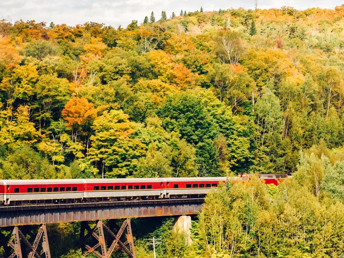 The Agawa Canyon Tour Train