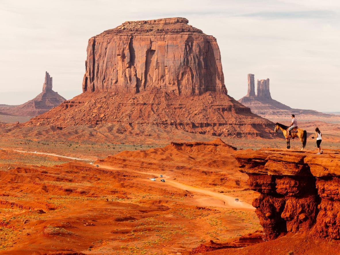Monument Valley se ha creado durante millones de años