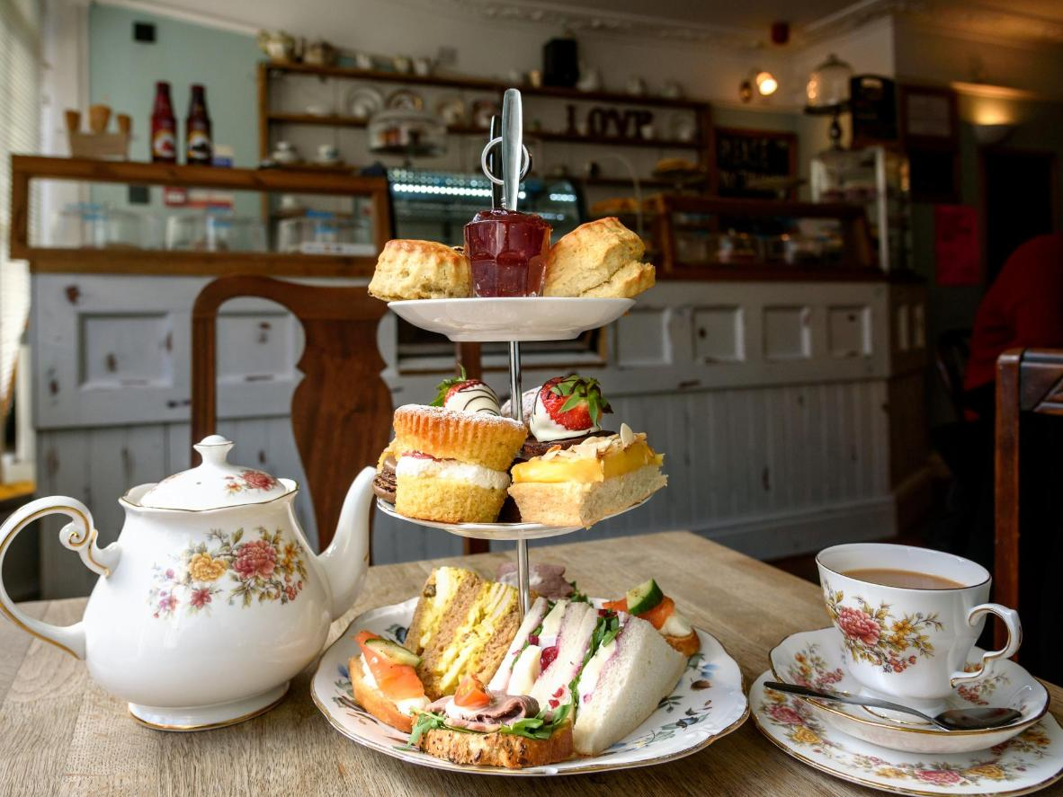 High tea in Chipping Campden