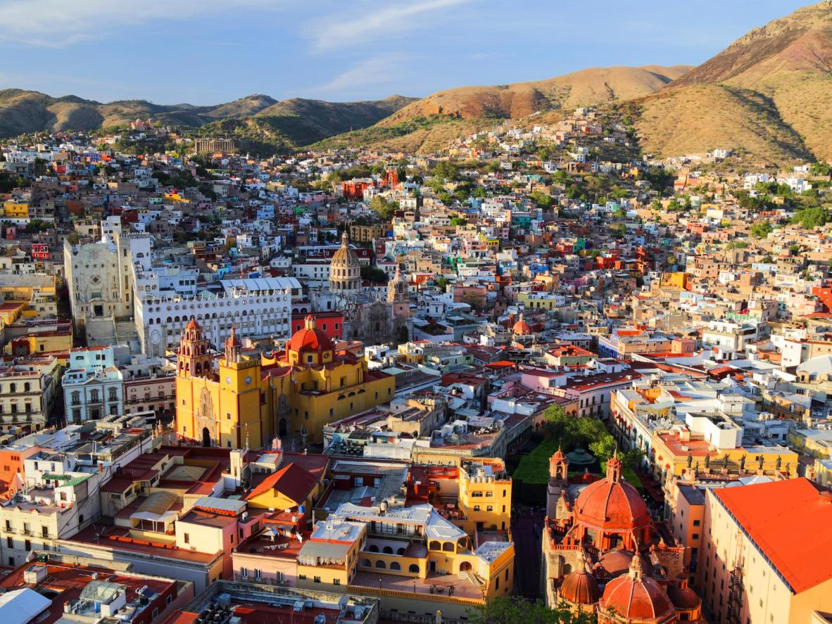 Colourful Guanajuato in Mexico