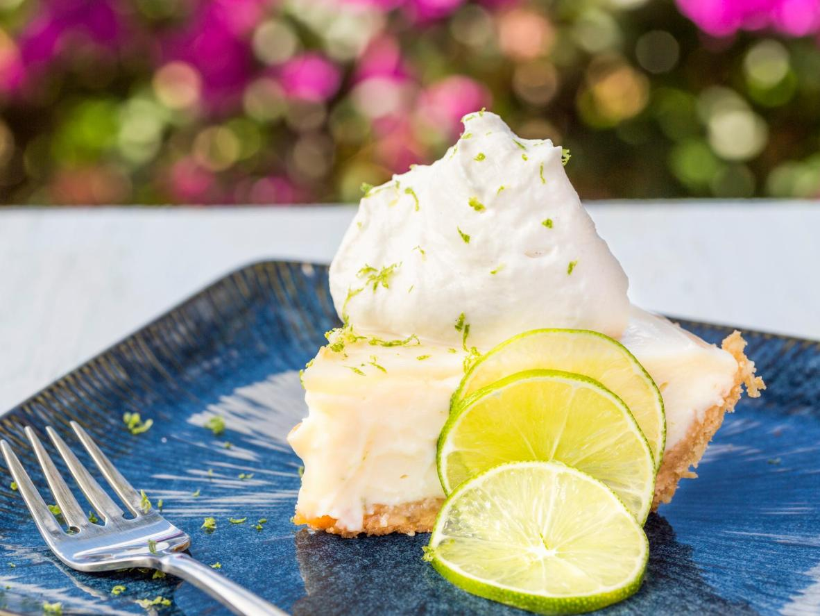 A good key lime pie combines airy meringue with a sweet, crunchy base