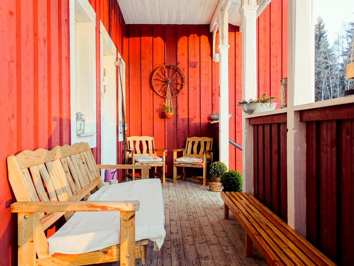Viking Trails Outdoor & Accommodations in Dalarna, Sweden