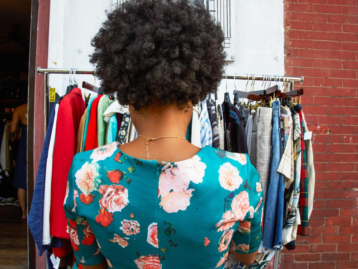 Browse Brooklyn's best vintage clothing and enjoy a jalapeño fritter or two