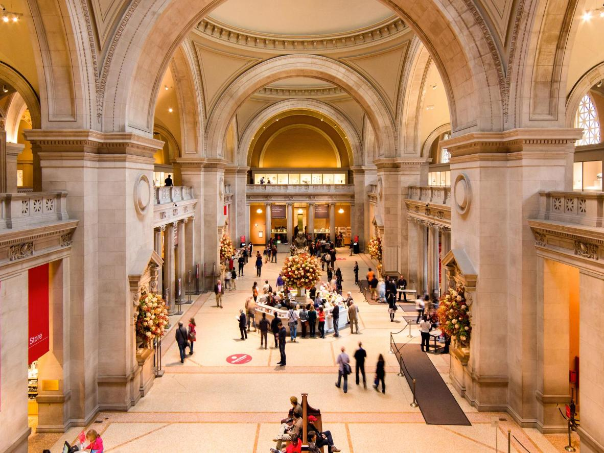 The Met's admission fee is actually just a suggested amount