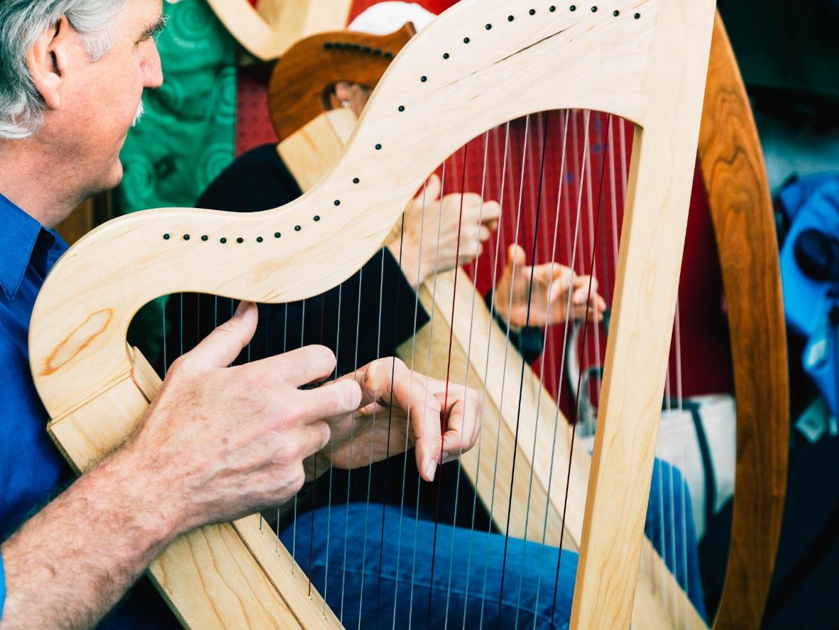 Dooling in County Clare, the home of traditional Irish music