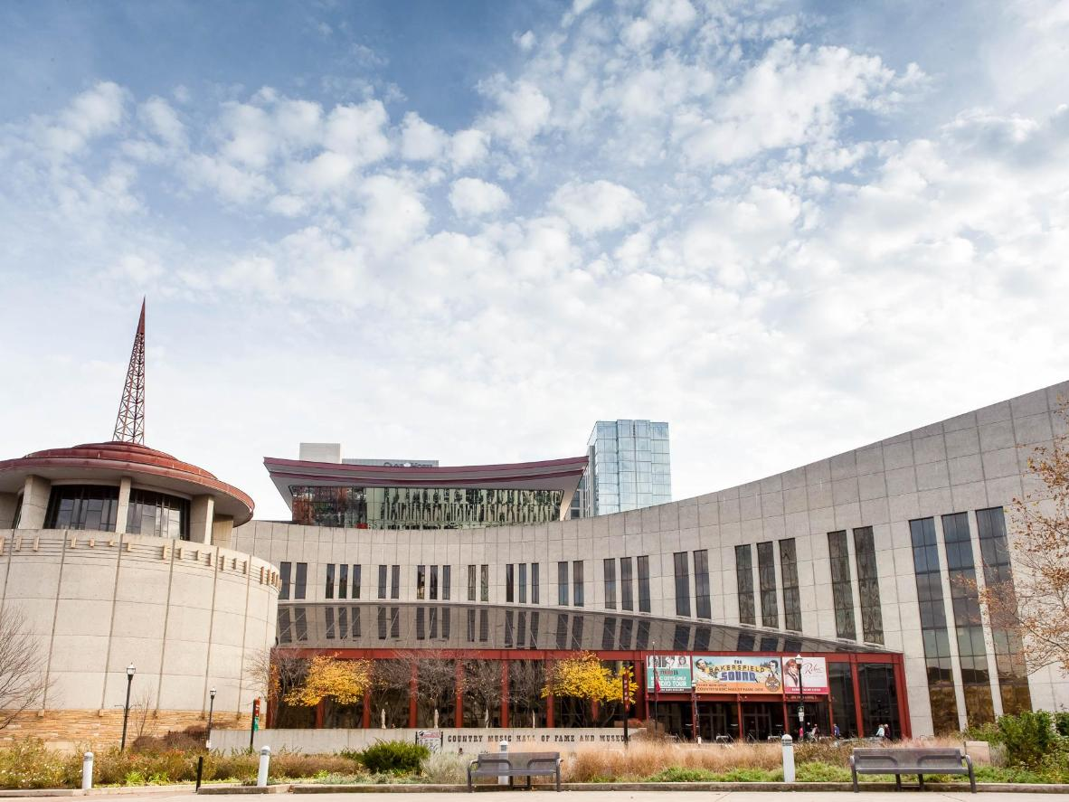 The Country Music Hall of Fame in Nashville, Tennessee