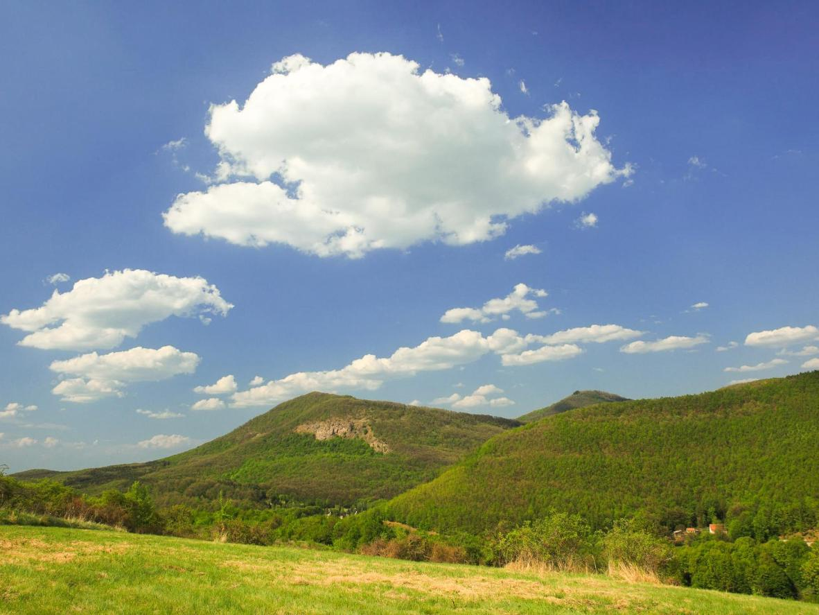 Kékes is hardly a giant, but it is the highest mountain in Hungary