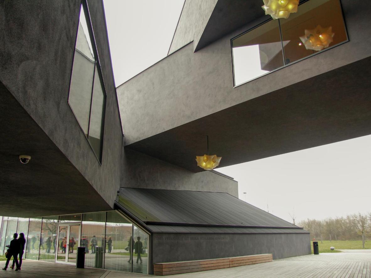 The Vitra Design Museum in Weil am Rhein