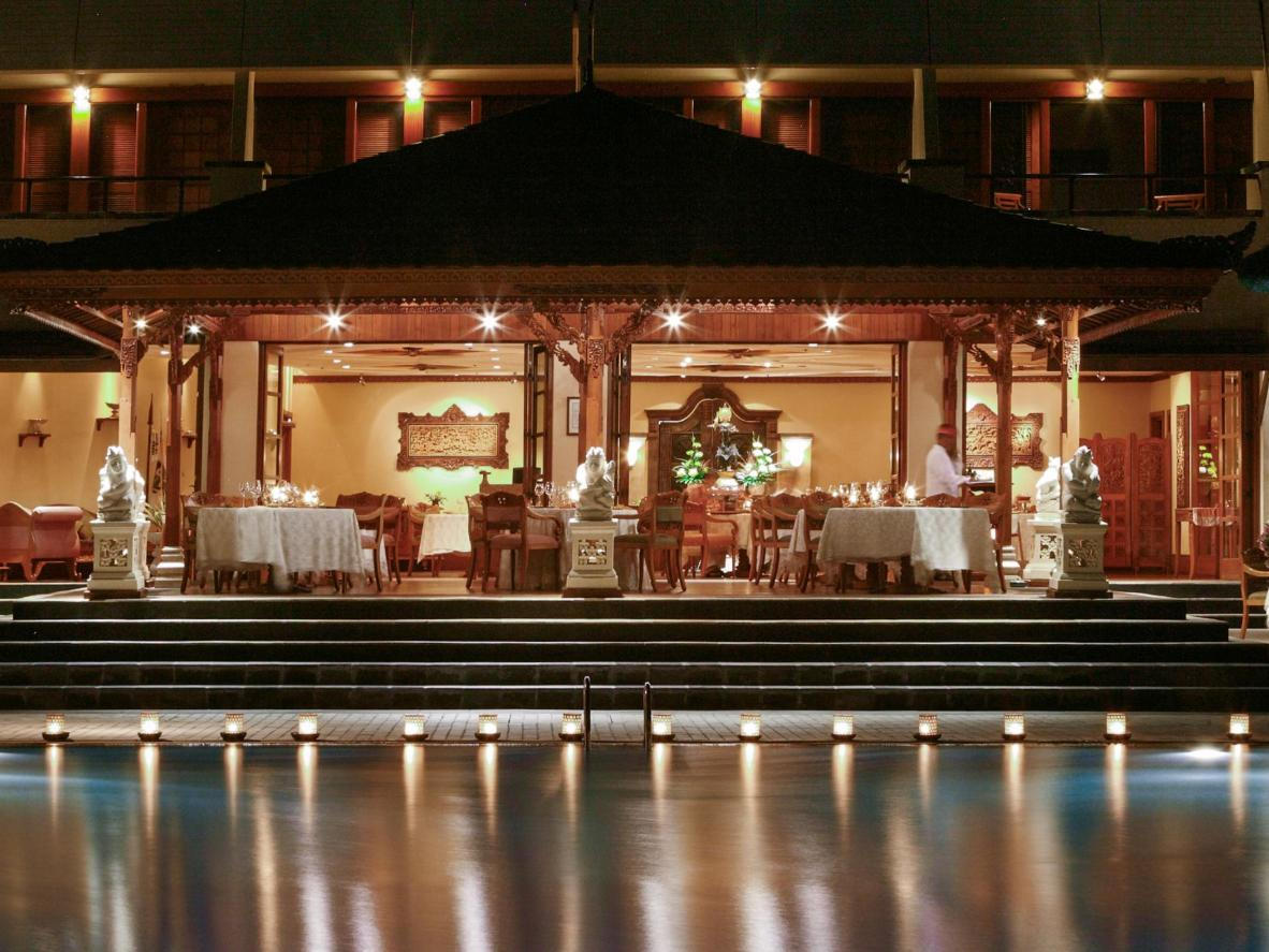 Raja's Balinese Restaurant at Nusa Dua Beach Hotel & Spa in Bali