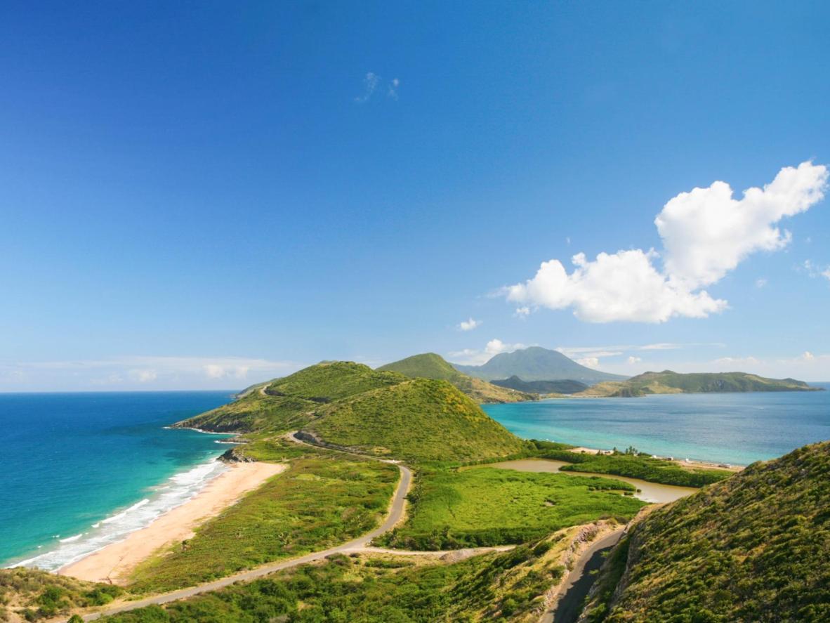 The Caribbean island of Nevis