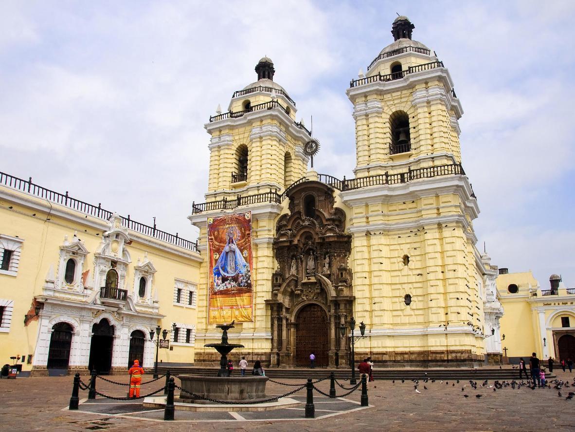 Convento de San Francisco Ossuary in Lima