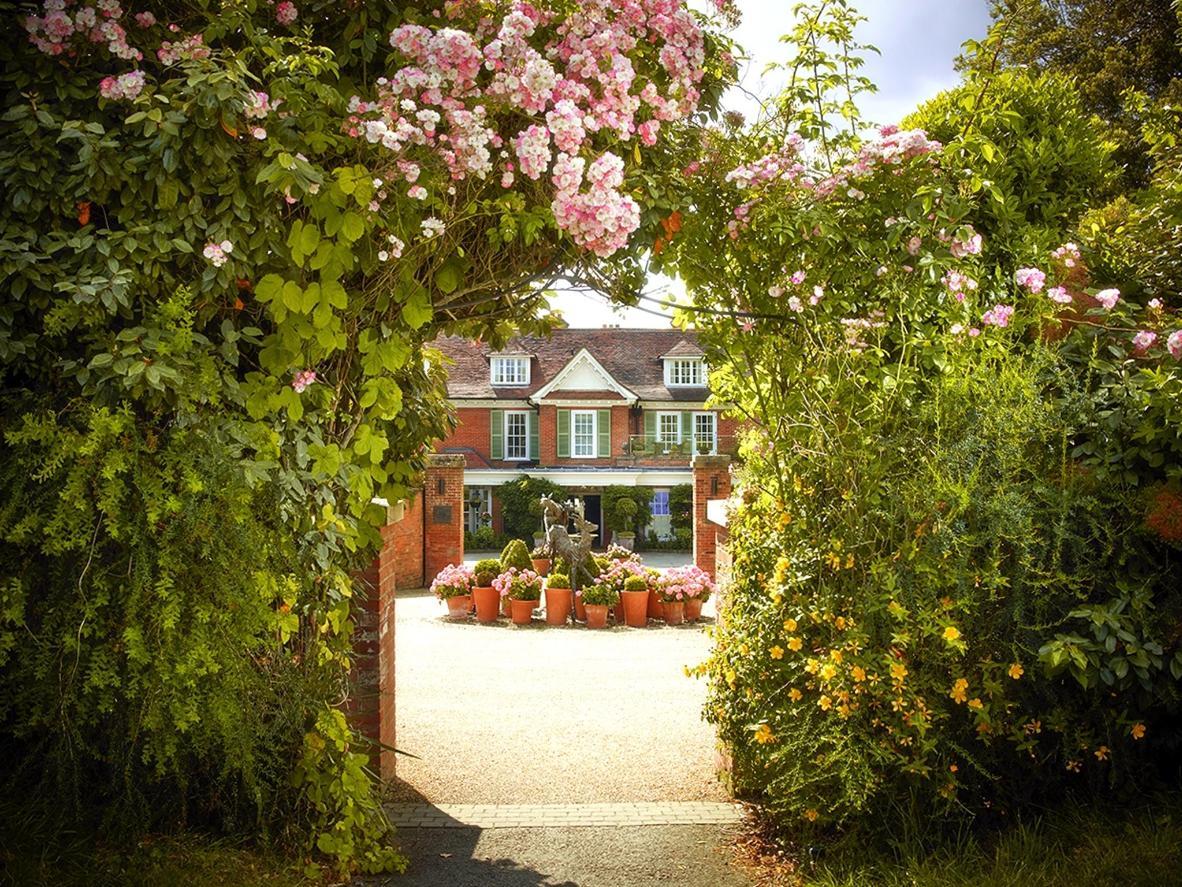 Au Chewton Glen, le bourdonnement des abeilles n'est jamais très loin
