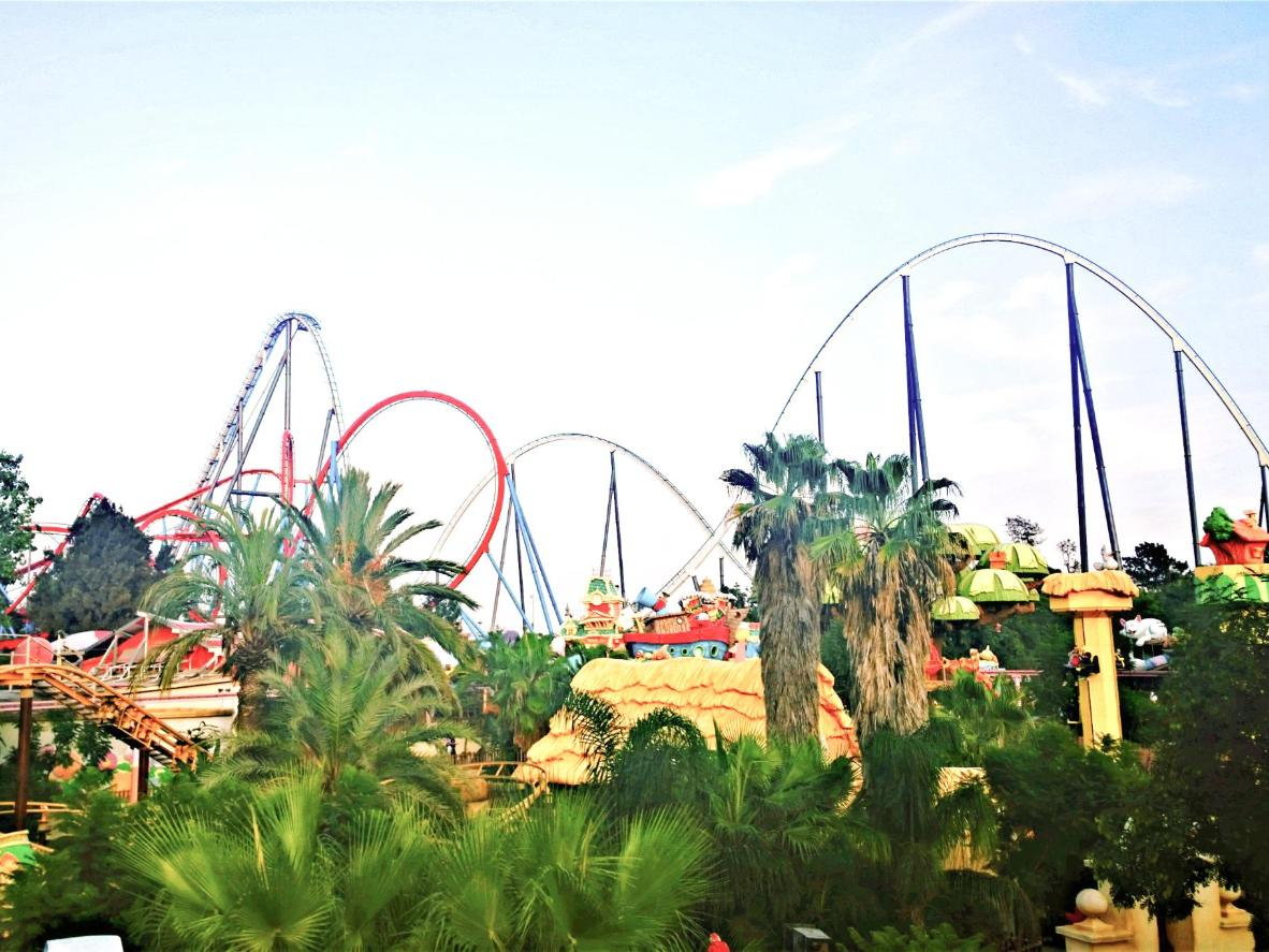 All the rides at PortAventura are specially-adapted for wheelchair users