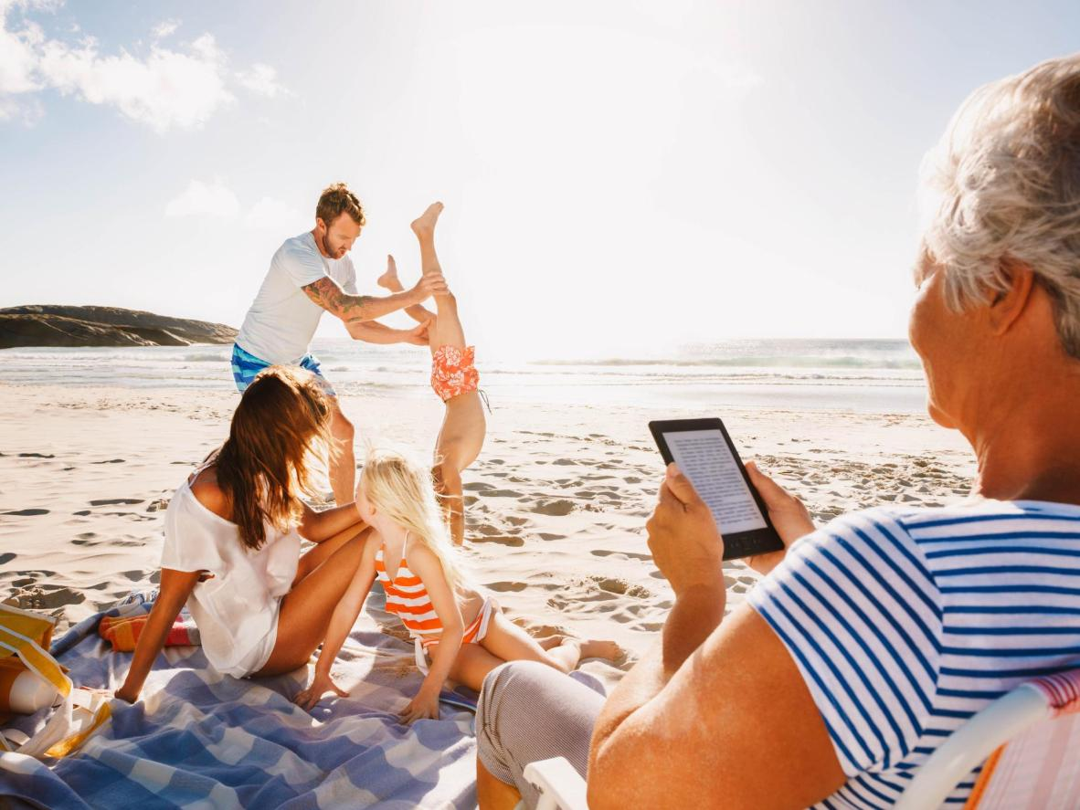 Relax on the beach with a trip to a family resort
