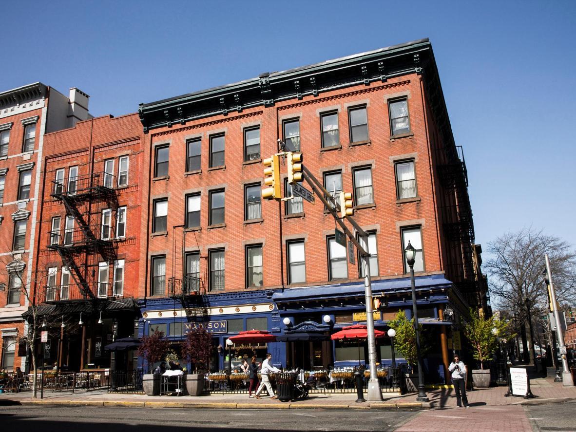 Washington Street in Hoboken, New Jersey