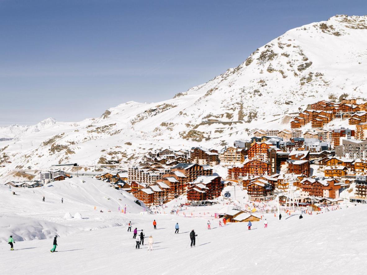 Val Thorens abrite la plus haute tyrolienne du monde