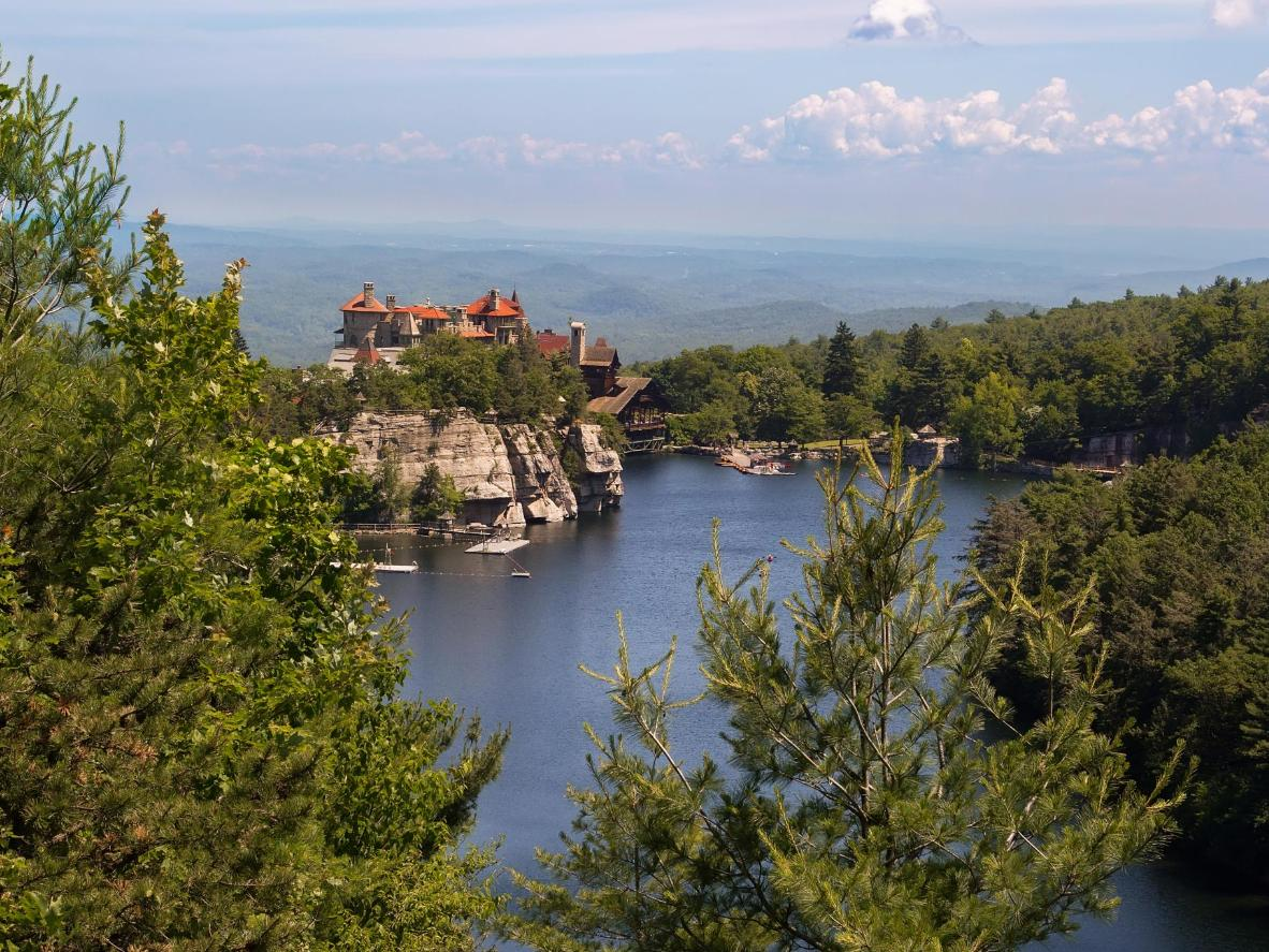 New Paltz is home to tons of hiking trails