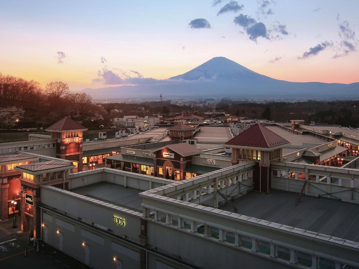 Il Monte Fuji dal Gotemba outlet
