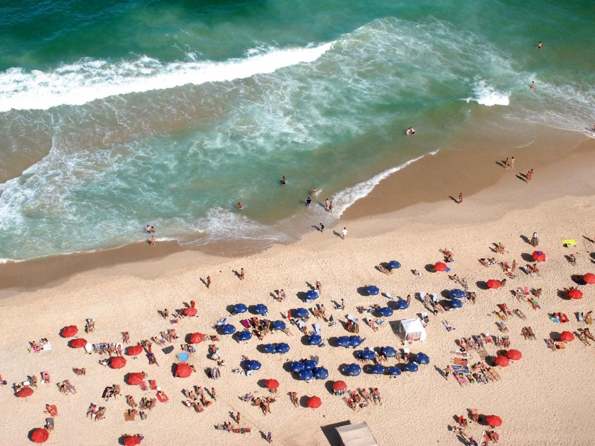 Praia do Leblon, Brazil