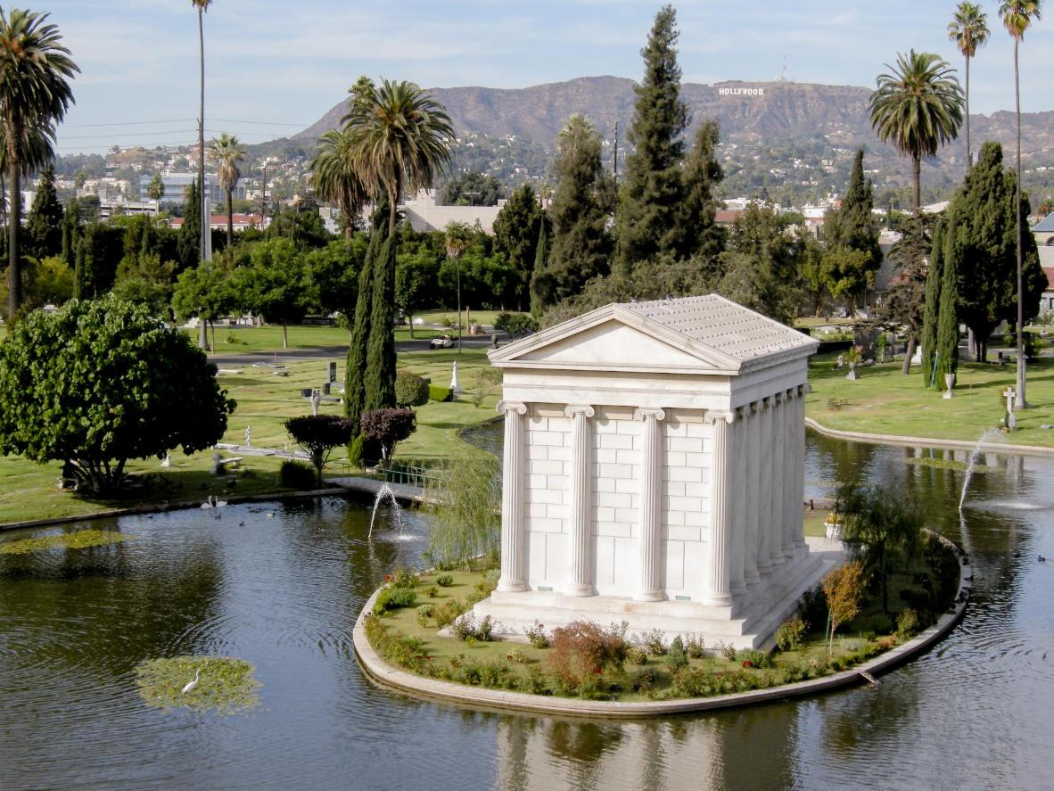 Photo provided by the Hollywood Forever Cemetery