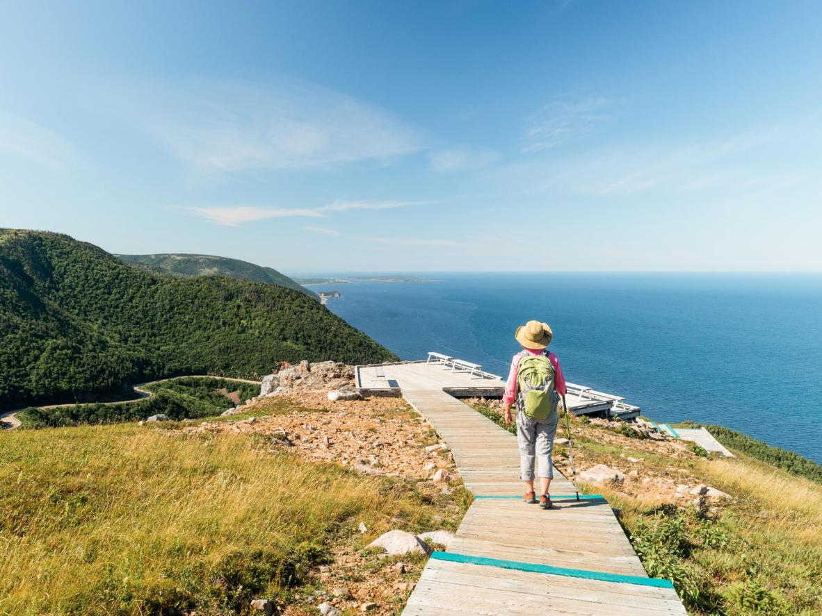 The Skyline Trail in Cape Breton Highlands National Park