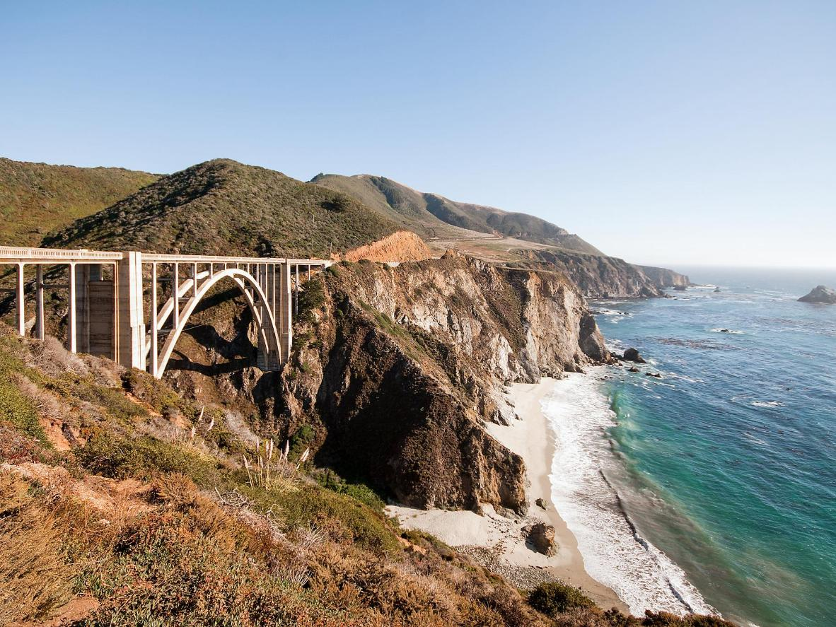 The Big Sur has a multitude of beautiful locations to get down on one knee