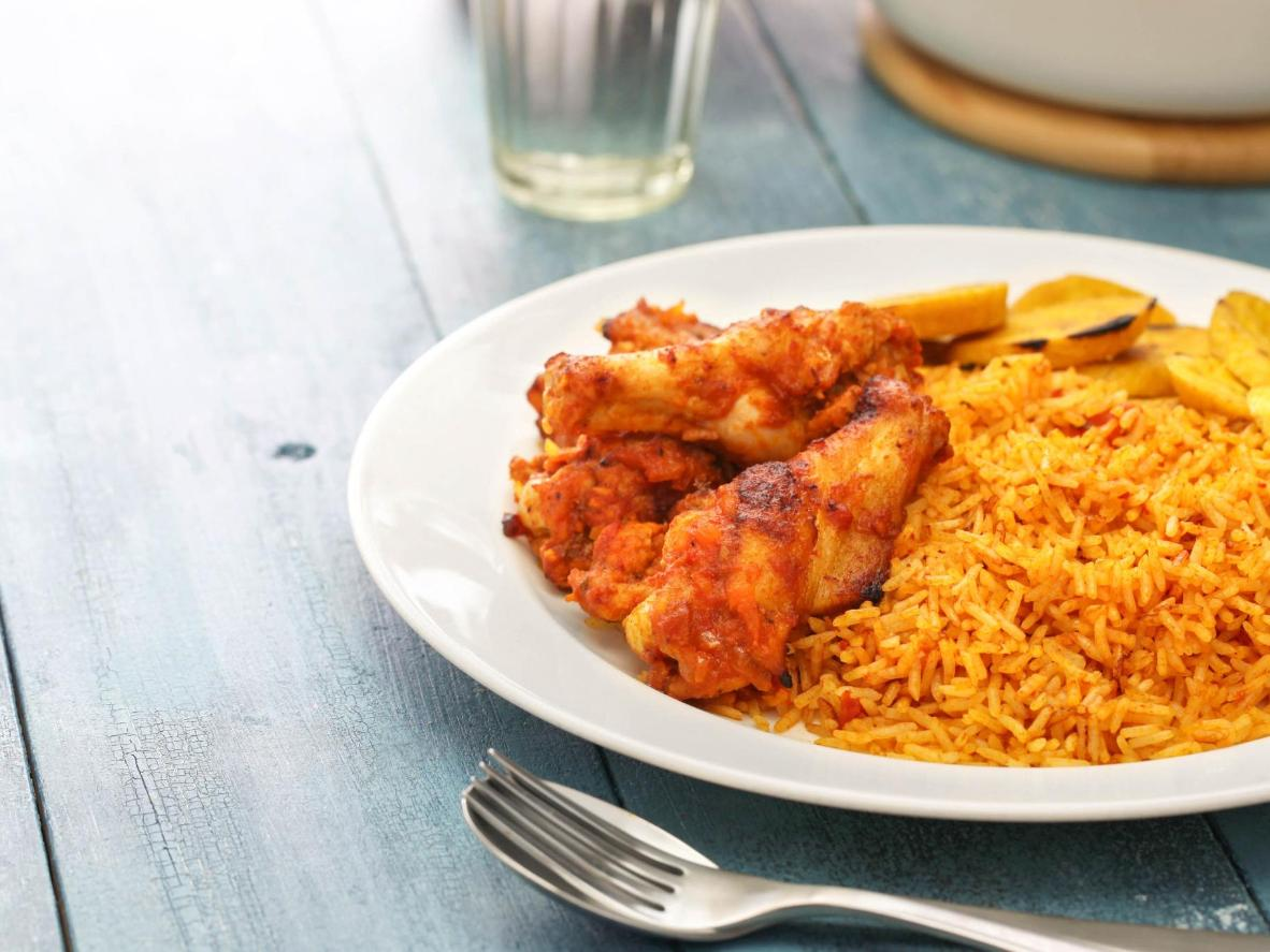 One of Nigeria's best-known culinary exports