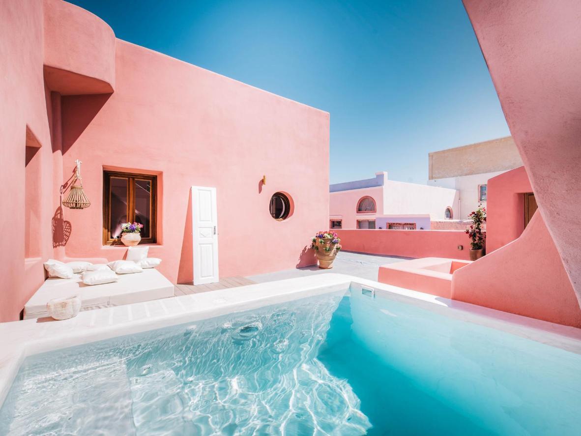 Da un toque de color a tu instagram con la gama cromática de Anemi House & Villas