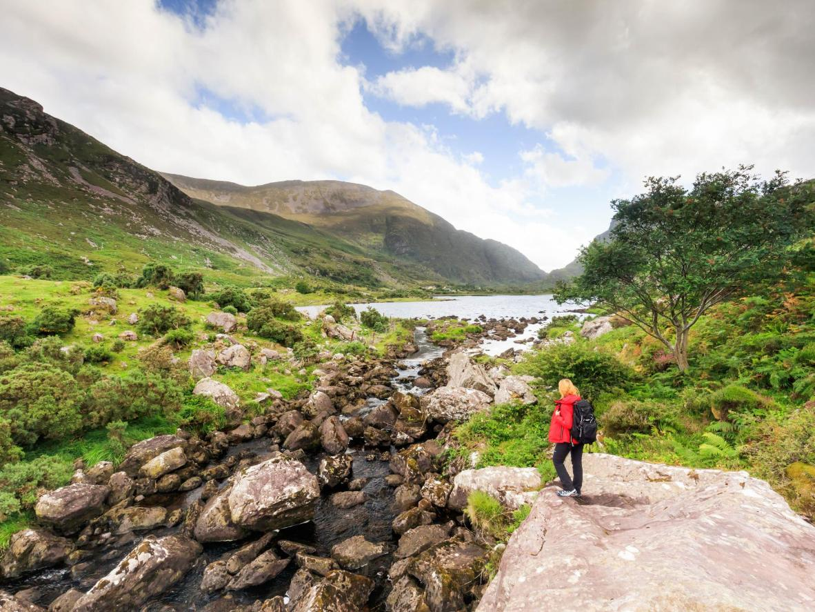 Killarney National Park contains some of the Emerald Isle's most verdant scenery