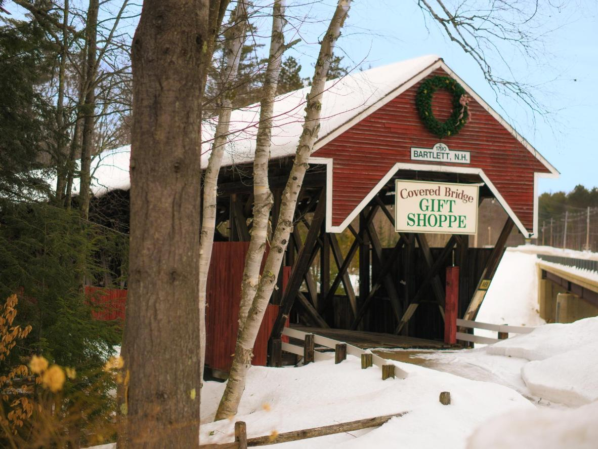 A B&B that owns one of the 53 covered bridges left in the entire state