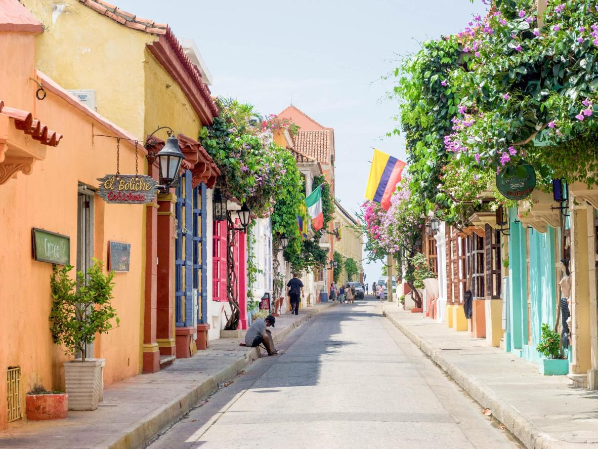 Cartagena's colourful Old Town