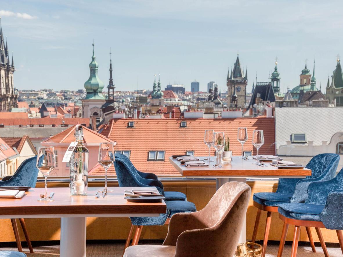 The rooftops of Kafka's Prague