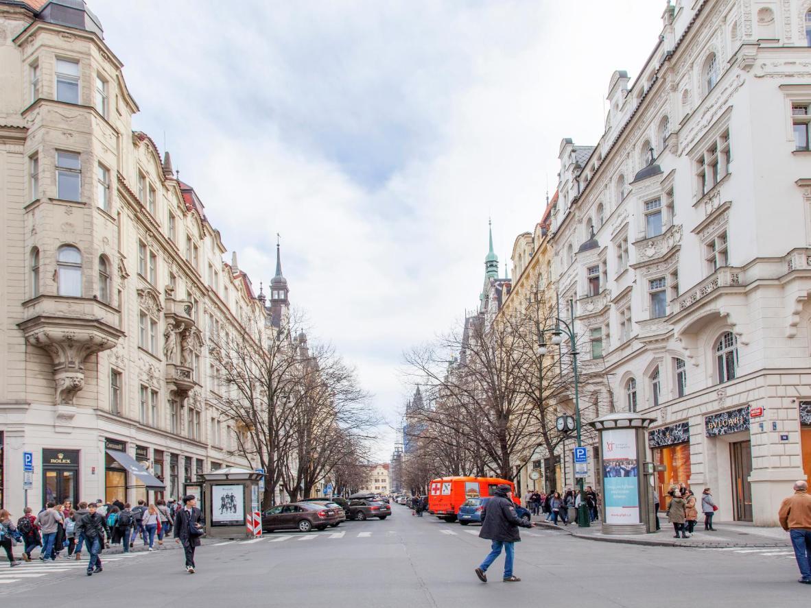 The Cheshskaya Praga District