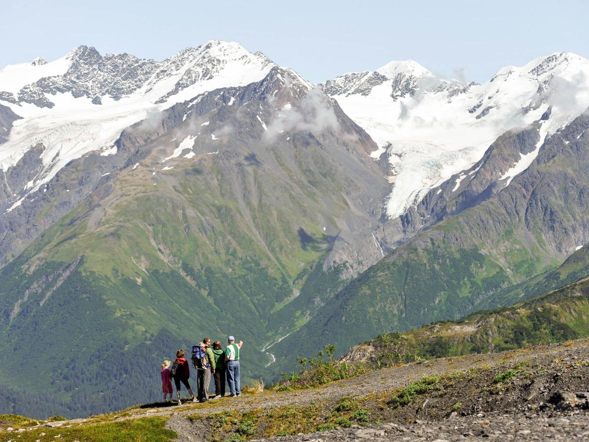 Girdwood is a gateway to the mighty Chugach Mountain Range
