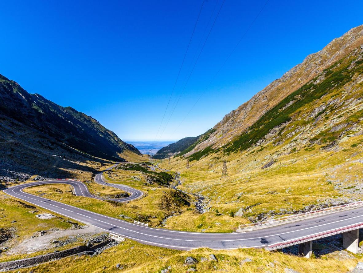 Top Gear declared the Transfagarasan Pass the best driving road in the world