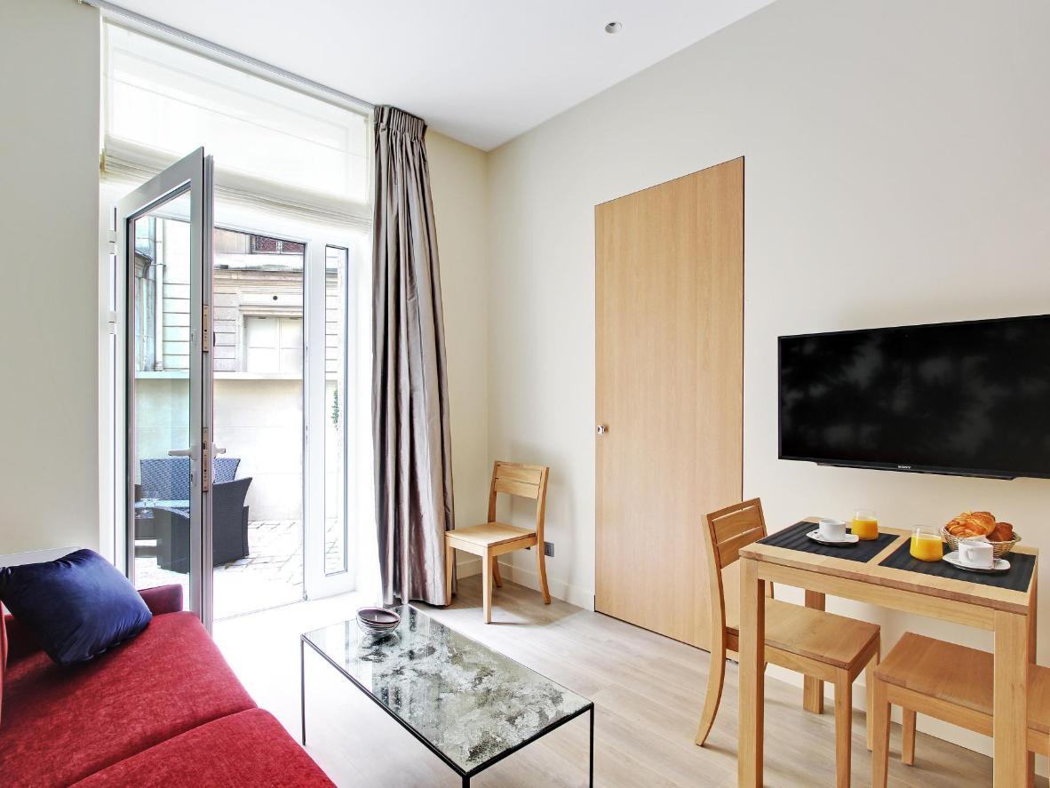 Este apartamento central de un dormitorio es una base ideal para grupos de cuatro