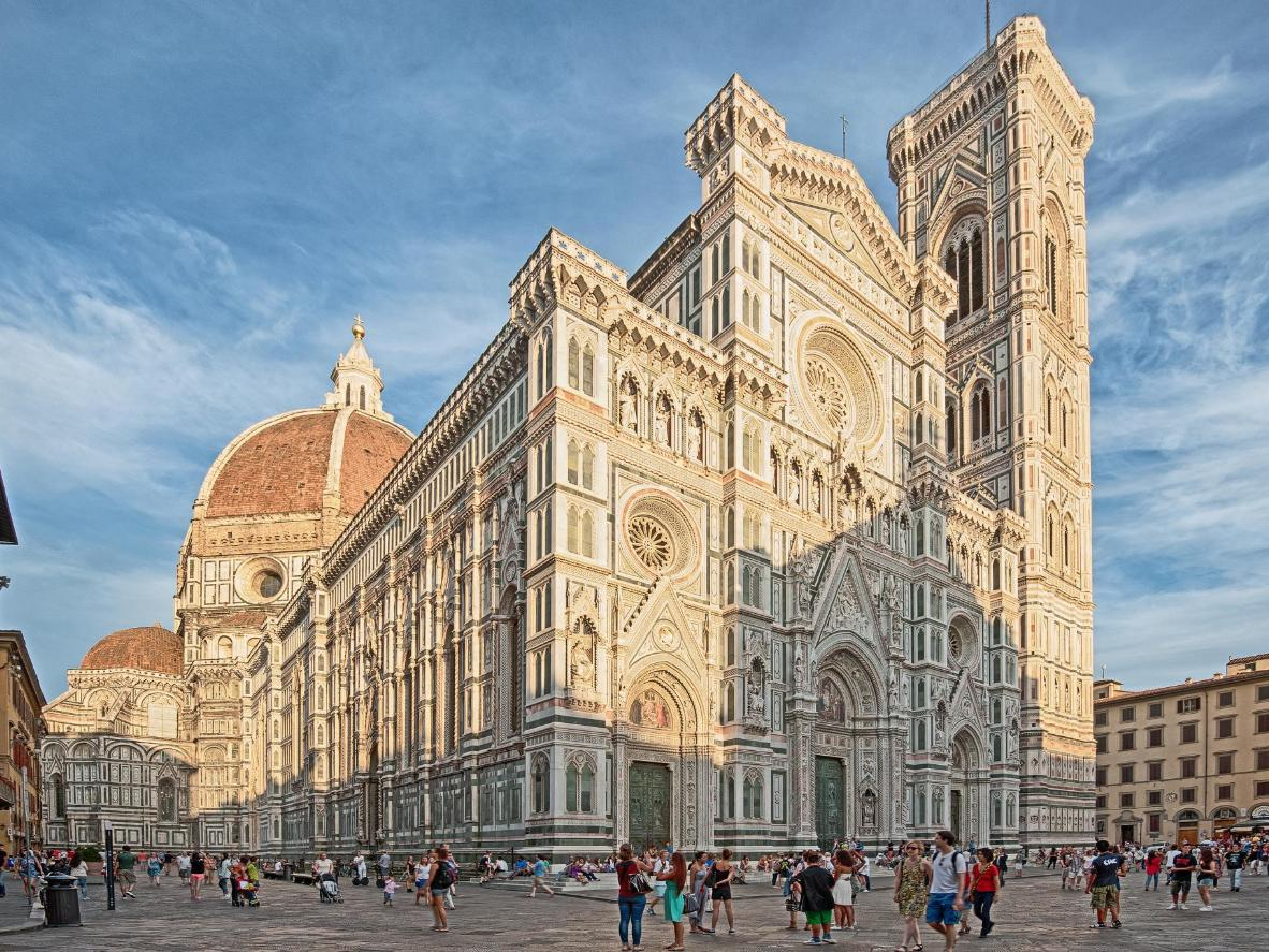 The Duomo took over 140 years to build
