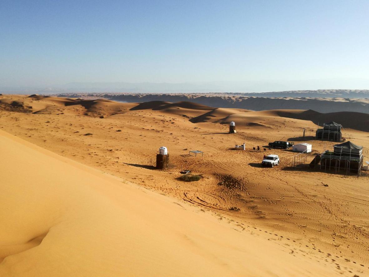 Wahiba Sand Private Camp & Adventure in Wahiba Sands