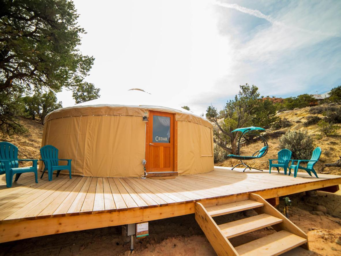 Escalante Yurts in Utah