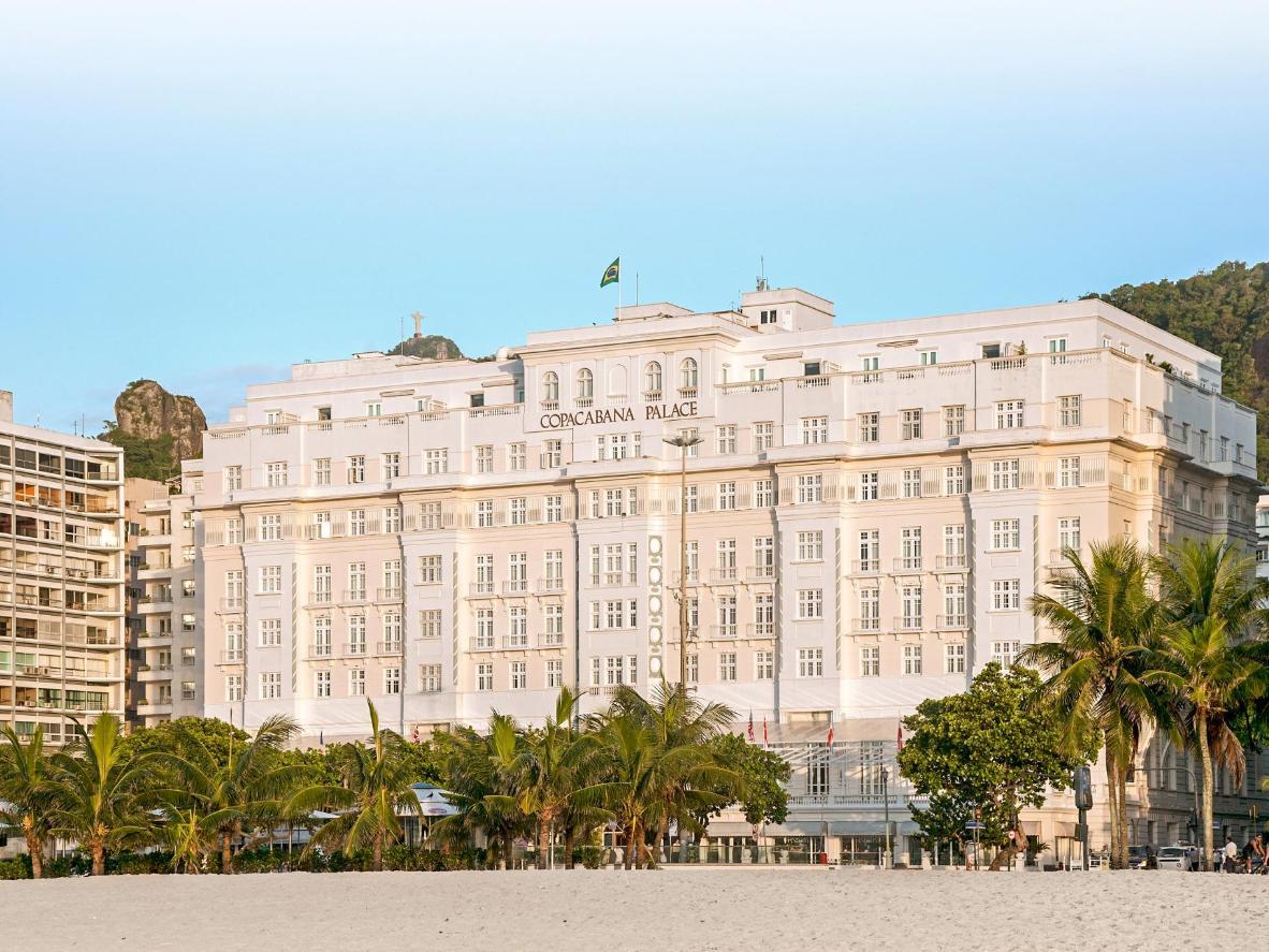 Ce palace Art déco a séduit des personnalités telles qu'Albert Einstein et Marilyn Monroe