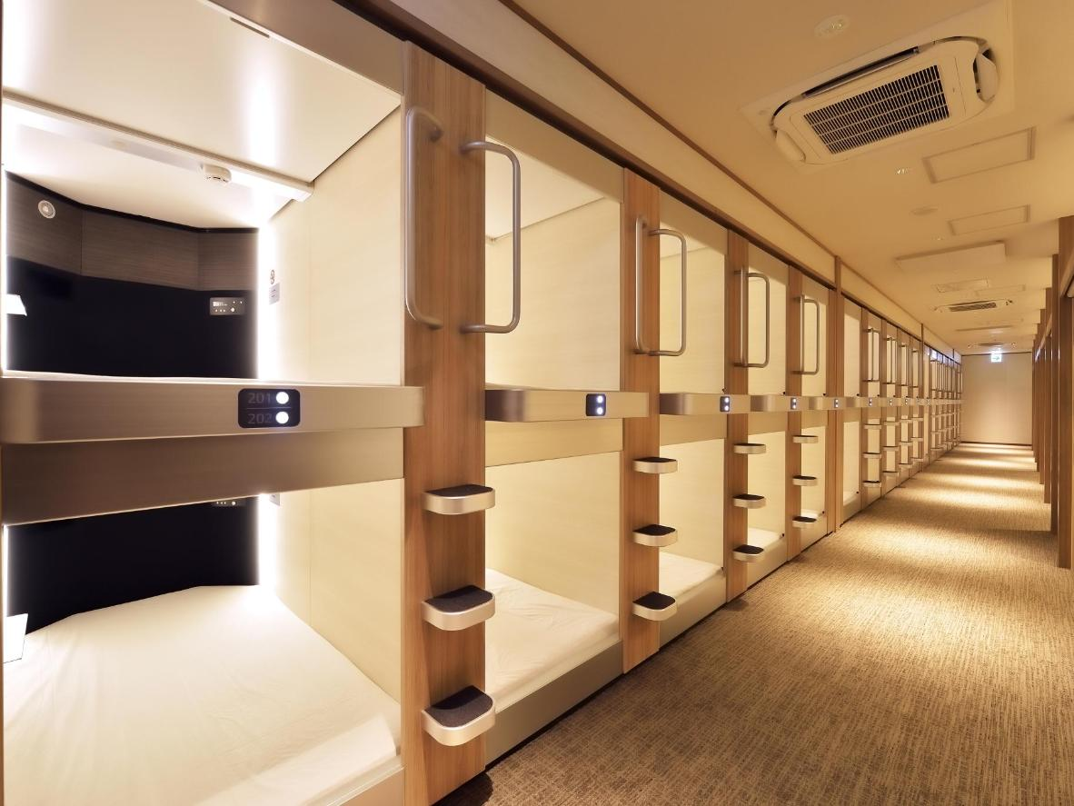 Cabin & Capsule Hotel J-SHIP Osaka Namba in Osaka