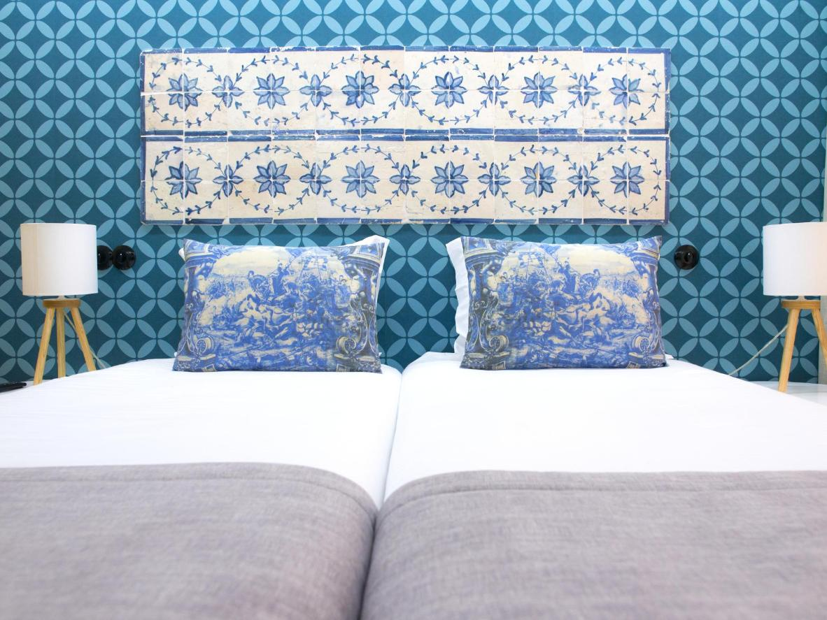 The Páteo Saudade apartments feature a nod to Portugal's traditions